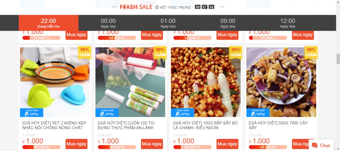 cách bán hàng trên shopee hiệu quả với quảng cáo flash sale trên shopee